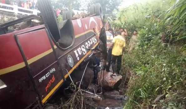 اڑیسہ: سڑک حادثہ میں سات افراد ہلاک، 40 زخمی