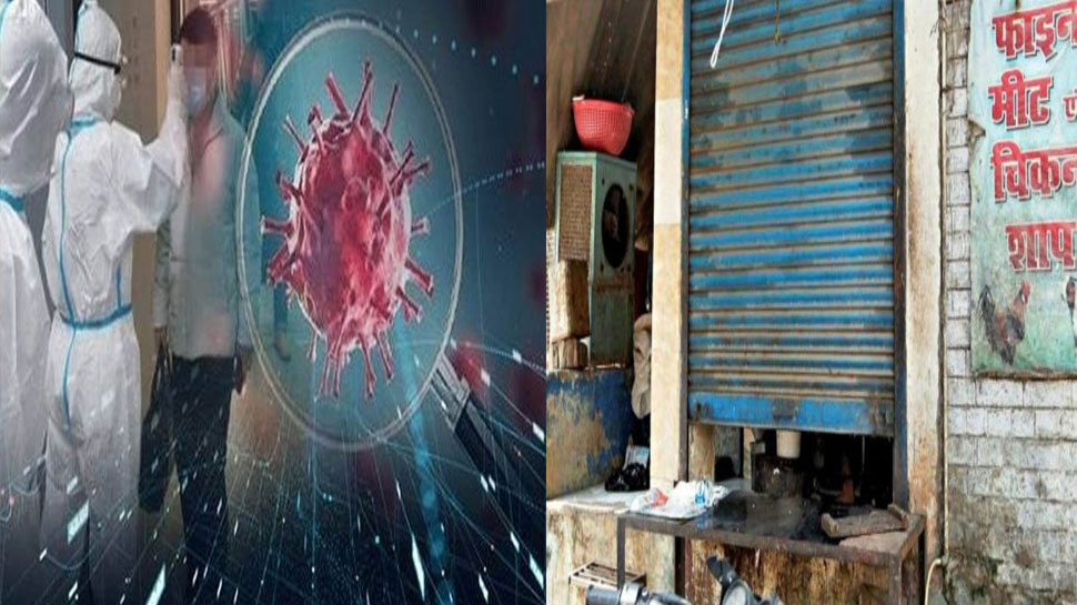 کرونا وائرس : لکھنؤ میں کھلے میں گوشت۔ مچھلی کے فروخت پر پابندی